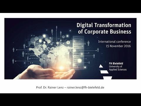 Digital Transformation of Corporate Business: Prof. Dr. Rainer Lenz