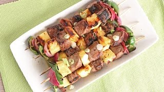 Teriyaki Beef Skewers | Episode 1075 by Laura in the Kitchen