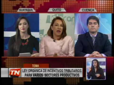 LEY ORGANICA DE INCENTIVOS TRIBUTARIOS PARA VARIOS SECTORES PRODUCTIVOS