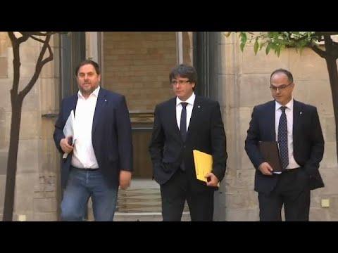 Ανταλλαγή απειλών μεταξύ Μαδρίτης και Καταλονίας
