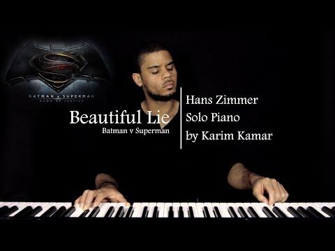 Beautiful Lie (Opening Credits music) - Batman v Superman OST - (Solo Piano)