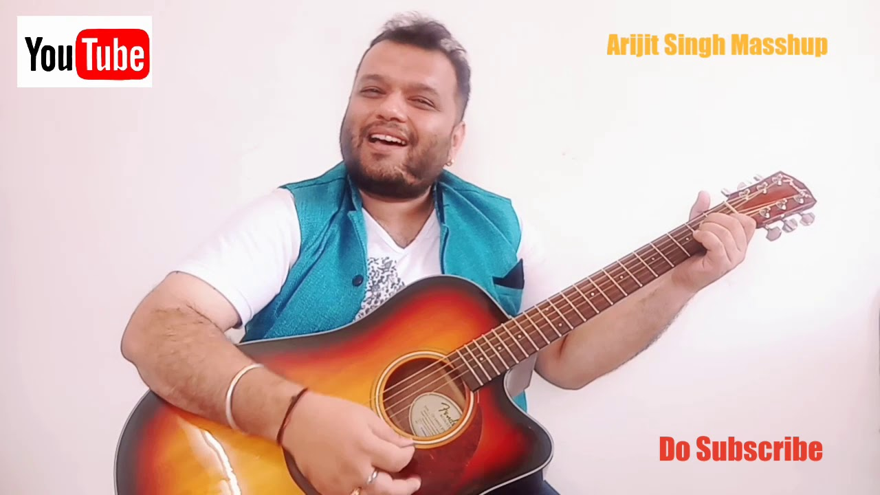 Arijit Singh Masshup || Easy Guitar Lesson For Beginners || 5 Bollywood Songs Masshup