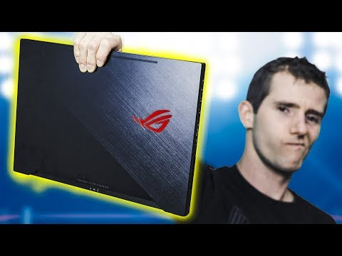 Laptop FASTER than your Gaming PC? - ASUS Zephyrus GM501 Review
