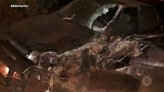Motociclista morre em acidente em Potunduva e motorista é preso por embriaguez