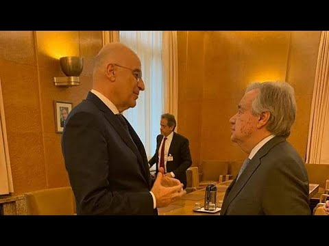 Ν. Δένδιας: Ανύπαρκτα τα μνημόνια συνεργασίας Τουρκίας- Λιβύης…