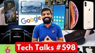 Tech Talks #598 - iPhone XS, Folding Laptop, Mi Mix 3, Redmi 6, Honor 8X, Xiaomi 5G, Apple Maps