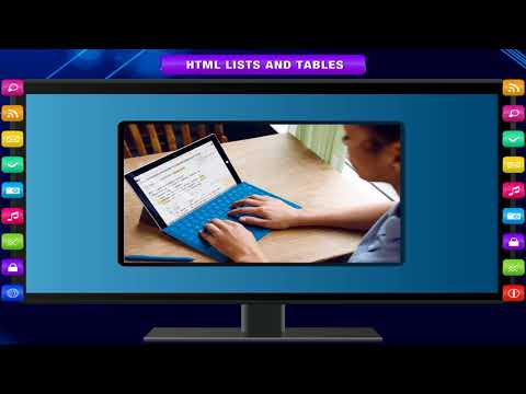 HTML LISTS AND TABLES Class-8