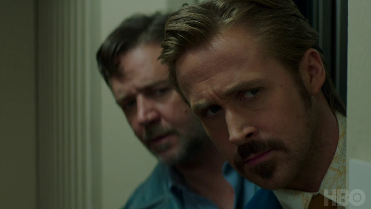 Now on HBO Watch Ryan Gosling & Russell Crowe as 'The Nice Guys' in Comedic Action Thriller