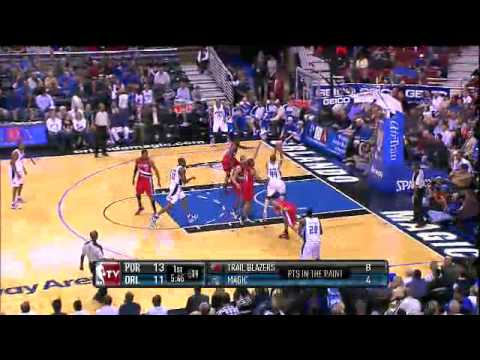 Funny Turnover by Jason Williams - Magic vs. Trail Blazers