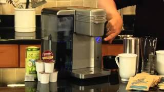 Single Serve Brewing System Demo Video Icon