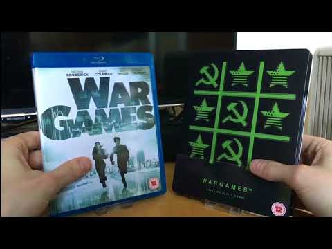 Blu Ray Face Off #13 WarGames (1983) Amaray Vs. Steelbook