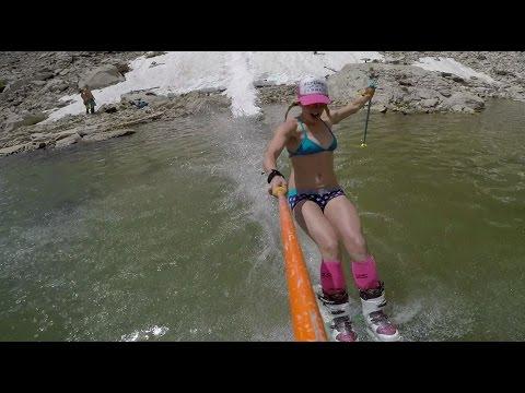 La traversé du lac à Jackson Hole