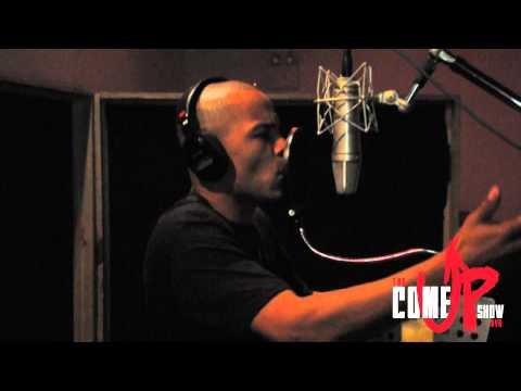 MEEK MILL & T.I IN THE STUDIO MAKIN ROSES RED REMIX VERSE OFF THE COME UP SHOW DVD
