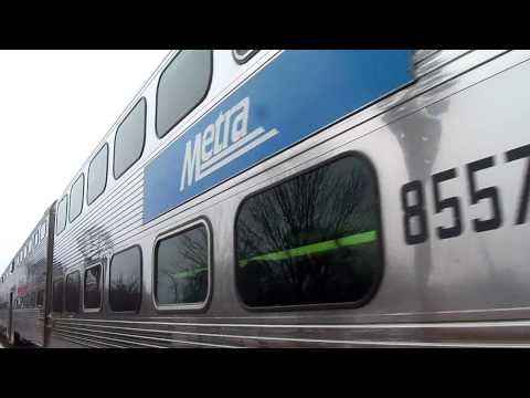 Metra 8557 Out Of Tinley Park