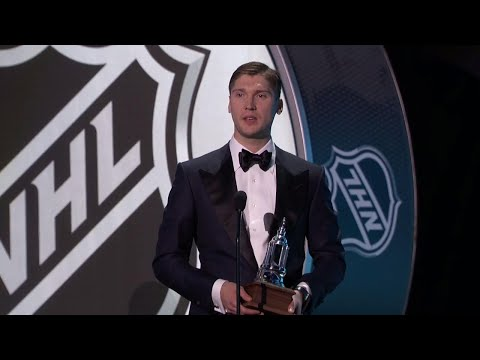 Video: Blue Jackets' Bobrovsky wins the Vezina Trophy