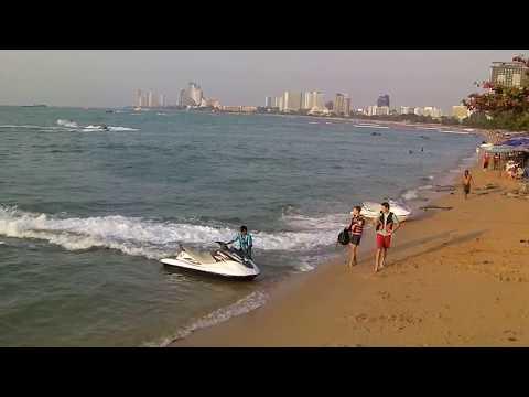 I Love walk on Pattaya Beach February 2015 Part II