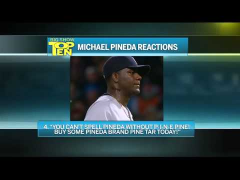 Caught - Keith Olbermann repurposes a classic David Letterman segment to guess what Yankees pitcher Michael Pineda might have been thinking when he was caught using pine tar against the Red Sox, and...