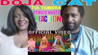 Doja Cat - Tia Tamera (Official Video) ft. Rico Nasty REACTION