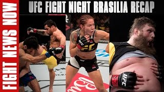 UFC Fight Night Brasilia Recap: Cris Cyborg, Renan Barao & Roy Nelson Win on Fight News Now by Fight Network