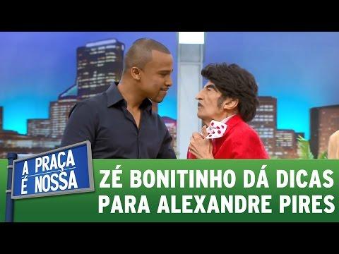 Video Zé Bonitinho dá dicas de paquera para Alexandre Pires | Praça Retrô (12/01/17) download in MP3, 3GP, MP4, WEBM, AVI, FLV January 2017