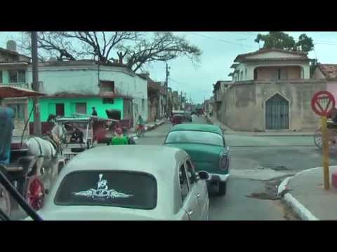 A bus ride through Cárdenas, Matanzas Province of Cuba