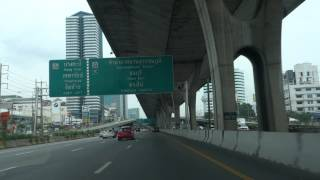 Driving To The Airport In Bangkok