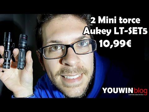 Mini Torce Aukey LT-SET5 #Recensione Youwin Blog