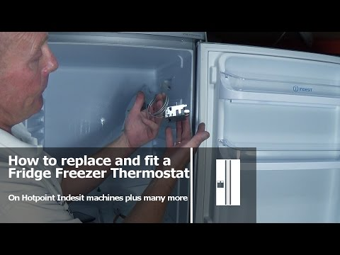 How to replace a Fridge Freezer Thermostat Hotpoint Indesit