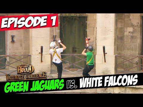 Green Jaguars Vs. White Falcons | Series 3, Episode 1 | Fort Boyard: Ultimate Challenge