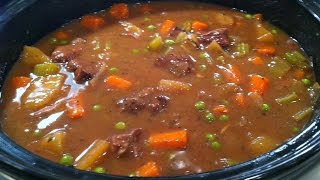Easy Beef Casserole (Slow Cooker) - RECIPE
