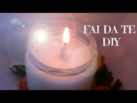 candela profumata anti zanzare fai da te!