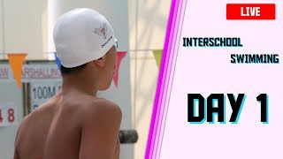 2018 Interschool Swimming Competition Day 1 Live Broadcast