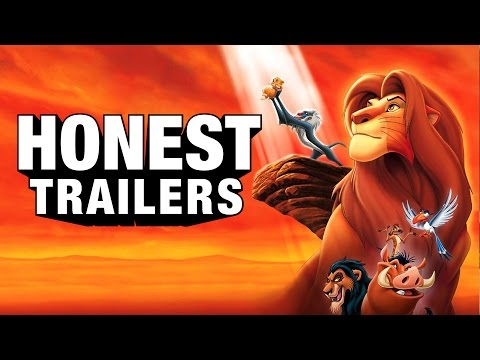Honest Trailers - The Lion King (feat. AVbyte)