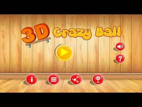 Video of 3D Crazy Ball : Physics Game