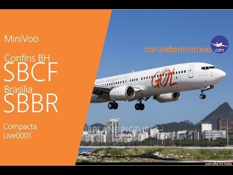 Flight Simulator FSX MiniVoo Belo Horizonte Brasilia MV0001