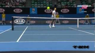 """This is Video #2 of my Roger Federer season review """"Records Again in 2011"""". It's Roger Federer at the Australian Open 2011."""