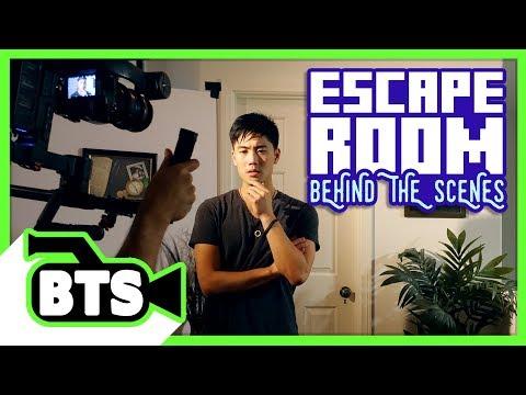 Making an Escape Room! (BTS)