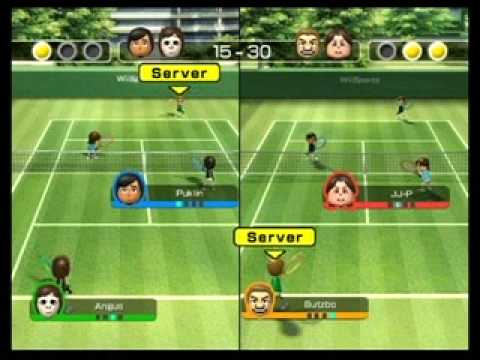 Wii Tennis Multiplayer