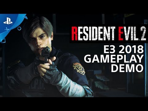 Resident Evil 2 - PS4 Gameplay Demo | PlayStation Live From E3 2018