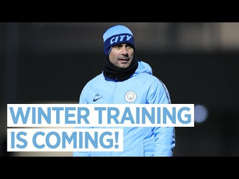 Video: WINTER IS COMING | Man City Training