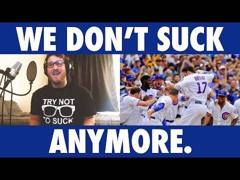 We Don't Suck Anymore - Official Cubs Parody by Joey Busse (видео)