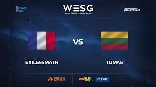 exilessmath vs Tomas, game 1