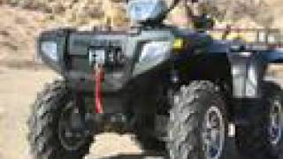 7. ATV Television Test - 2007 Polaris Sportsman 800 Deluxe