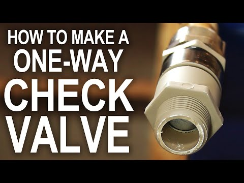 check - The most expensive parts of a water pump, or DIY Super Soaker, are usually the check valves. In this project, we're making some from scratch, for as little a...