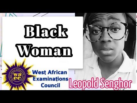 Black Woman - Leopold  Sedar Senghor