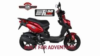 3. 🛵 2018 Genuine Roughhouse 50 Sport (Overview & Specs) 🛵