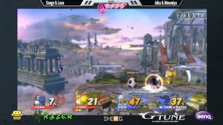 The Game That Sums Up Japan's First Team Attack ON Doubles Tourney: Sheik+G&W Winning in 50sec