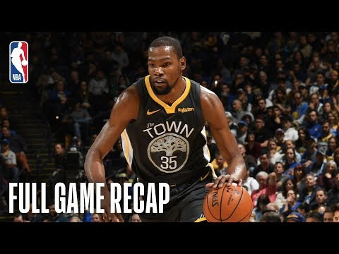 Video: JAZZ vs WARRIORS | Golden State Turns It On Late | February 12, 2019