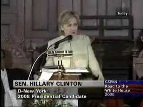 "Video: ""Black Lives Matter"", Pride In Ending Torture and Other Nonsense by Hillary Clinton"