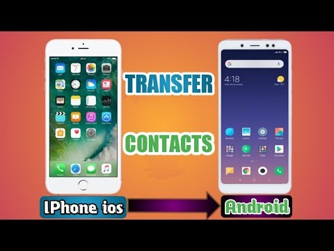 How to transfer contacts from IPhone to Android in one click only on your Android phone